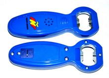 Custom Logo Cast Iron Plastic Speaking Music Sound Bottle Opener