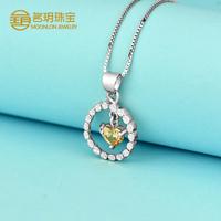 New products 2016 diamond necklaces pendants, silver bisuteria pendants for wholesale