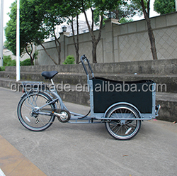 Pedal electric cargo bike /cargo tricycle for sale UB9019E