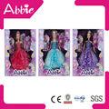 11.5 polegadas hot fashion dolls/colorido boneca conjunto/janela caixa/boneco engraçado/boneca plástica/boneca princesa