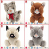 2016 High quality plush cat stuffed animals children toys with BSCI/WC/SEDEX/Warmart