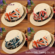 Wholesale Child Breathable Fedora Sun Hat
