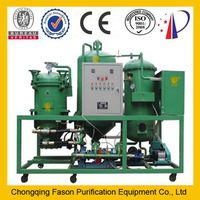 the latest regeneration and micro-filtration purification technology vacuum oil purifier plant