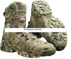 Waterproof Combat Military Boot ,A-TACS,Delta,MAGNUM-5102 camouflage shoes