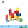 Kindergarten classroom kids teaching montessori material Fit together building blocks set 1