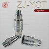ZJ-YCT NPT push and pull type farm tractor hydraulic quick coupling