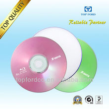 Wholesale 25GB 6X Blu ray disc 50pcs Cake Box Packed Full Compatibility