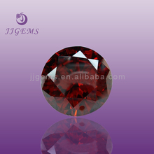 cheap dark garnet cubic zirconia rough diamond