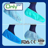 Highly protective latex free disposable knee shoe cover