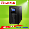 Hot Sale Single Phase UPS 10KVA Pure Sine Wave Online Application For industry