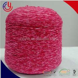 Factory supply 1/2.5 NM nylon acrylic wool yarn tape yarn autumn and spring sweater cardigan yarn