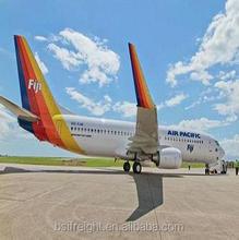 Cheap air cargo/freight from Guangzhou/Shenzhen/Hongkong,China to Nadi,Fiji by Air Pacific/FJ