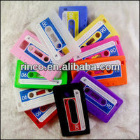 Cassette Tape Soft Silicone Back Phone Case Cover Skin For Samsung Galaxy S2 SII i9100