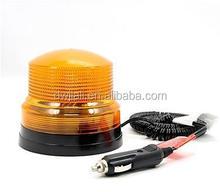 Abs amarillo / bule advertencia coche de policía luz del punto 12 v magnética base de crema para blanquear para mancha oscura