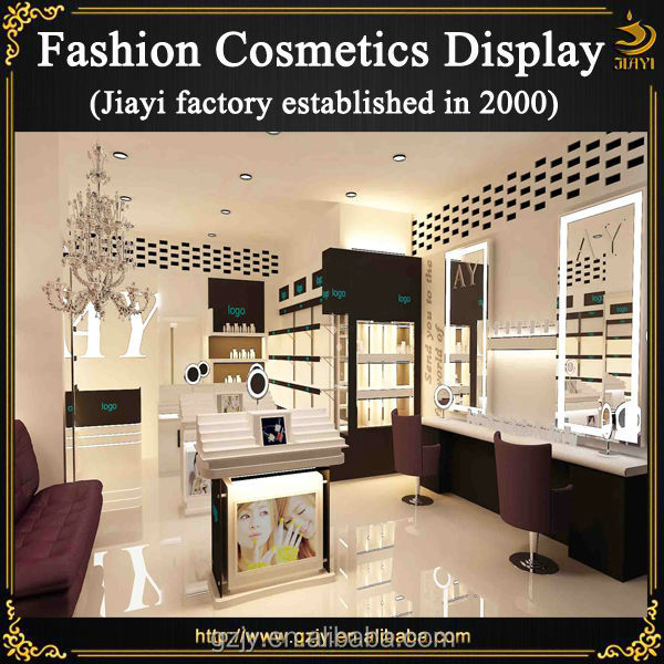 Modern High-end Cosmetic Store Display For Retail Makeup ...