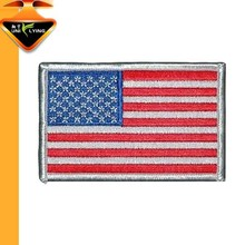 2015 Iron on Applique Embroidery American Flag Patches