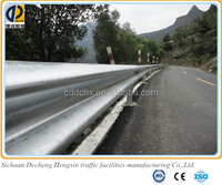 Traffic facilities hot rolled Q235 steel highway road guardrails with low price