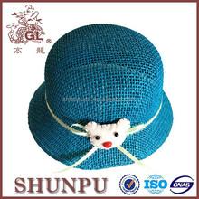 children&kids bucket straw hats