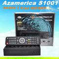 Venta al por mayor azamerica s1001 libre iks/sks az america s1001 decodificador satelital s1001 canales para américa del norte
