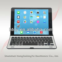 Aluminio teclado bluetooth para ipad 2/3/4/ipad mini/samsung galaxy tablet pc