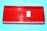 Bi-color Rectangle 80g Plastic box for gifts and craft 203x94x28 XL - 512 - 1