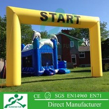 promotion arch shaped door, inflatable archway for rental