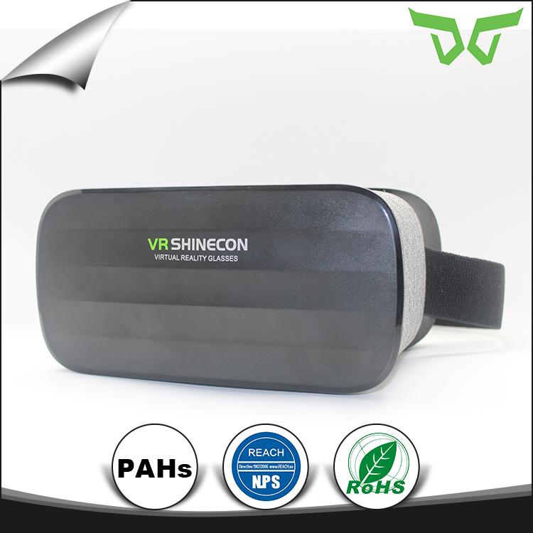 سعر المصنع بلوتوث 4.0 vr shinecon الظاهري نظارات الواقع الافتراضي 3d مربع ل hd فيلم ولعبة