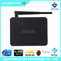 RK3288 Android 4.4 Quad-Core WiFi Smart Android TV Box, 8GB KODI 1080P M8 Android TV Box