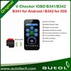 Original V-Checker IOBD Module B341/B342 for Android /IOS OBD Diagnosis Support All models support the OBD standard vehicles