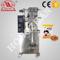 Hot sale Hongzhan HP50G/100G/500G grain coffee rice snack seeds peanuts gruanule automatic salt packing machine