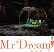 wicker swing bed outdoor garden bed mr dream furniture outdoor sofa bed