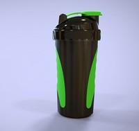 2015 Shenzhen Sports fitness protein shake bottle shake cup Protein Shaker Bottle