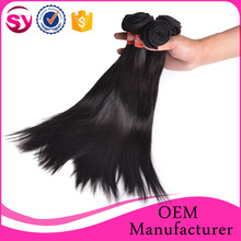 """Secure Payment Online Straight Virgin Brazilian Hair Extension 8""""-30"""" Virgin Brazilian Human Hair Weaving Wholesale"""