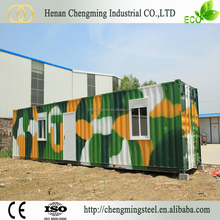 Sandwich Panel Affordable Multipurpose Fast Food Container Kiosk