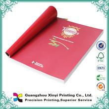 La impresión de libros de tapa blanda de encargo barato de la alta calidad