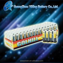 R6 UM3 aa super heavy duty dry battery