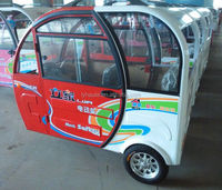 electric tricycle vehicle for people transportation