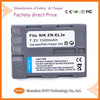 7.2 V 1500mAh High quality camcorder camera battery EN-EL3e ENEL3e for nikon -----Factory