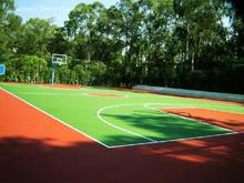PVC interlock suspended basketball court /China basketball floor/ badminton floor mats