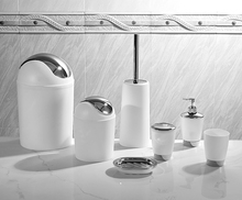fancy new design 6pcs bathroom accessories set