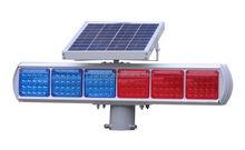 12v LED solar flashing warning light