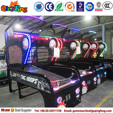 Game center Coin operated deluxe street basketball game machine sport equipment