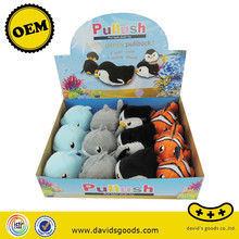 pull back toy car stuffed with plush toys pull toys for toddlers