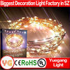 2m 20led Purple mini led copper string light for crafts used in Christmas decoration