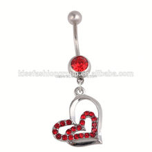 belly studs navel rings body piercing jewelry Stainless steel sexy navel piercing diamond tips for nails