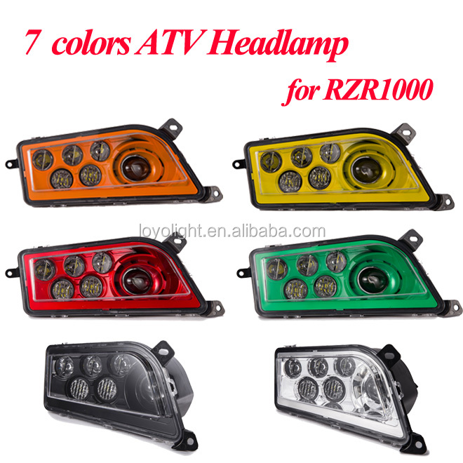 7 colors ATV headlamp