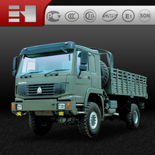 famous brand--SINOTRUK HOWO 4X4 high quality cargo truck Military Vehicle for Army Use