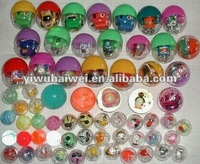 Promotion plastic capsule toys for vending machine