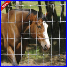Factory direct sale hinge joint knot field mesh fence for animals horse farm fence