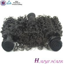 Guaranteed quality 6A grade virgin human hair kinky curly Mongolian hair